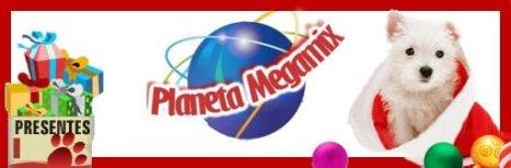 Logo Planeta Megamix Pet shop virtual e Pet boutique